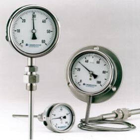industrial temperature gauges