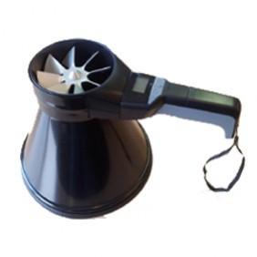 meetconus, capture hoods, luchtdebietmeters, air flow meter, vane anemometer