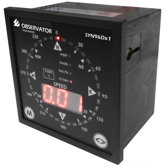 Synchrotac SYN-96Dx1 Wind Display