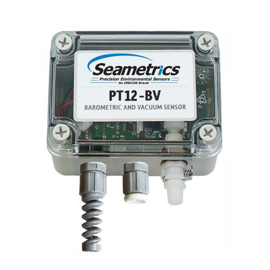 Seametrics PT12-BV Barometric/Vacuum Sensor