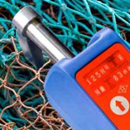 Measuring net with OMEGA Mesh Gauge