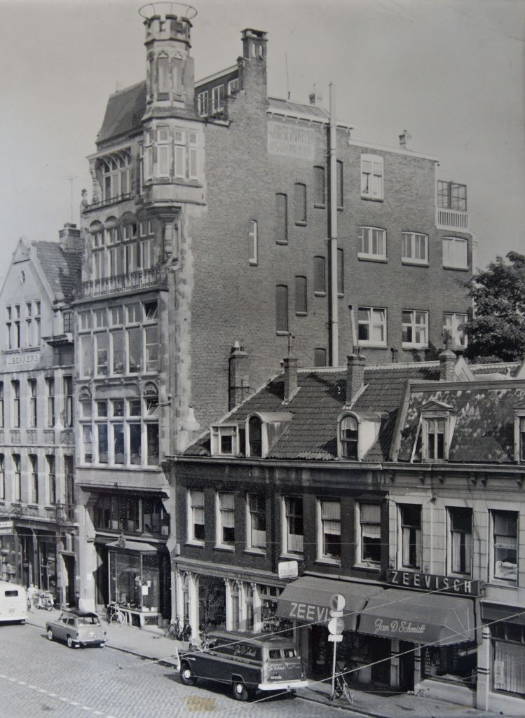 Observator office in 1924 (Westzeedijk, Rotterdam, the Netherlands)