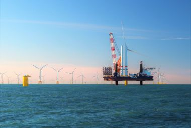 Van Oord's offshore installation vessel Aeolus