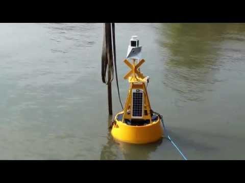 Video: Testing OMC 7012 data buoy