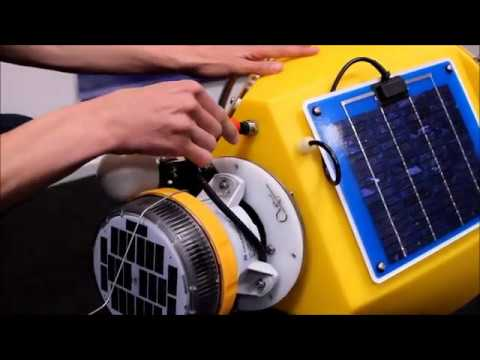 Video: Assembly instructions of OMC-7006 Data Buoy