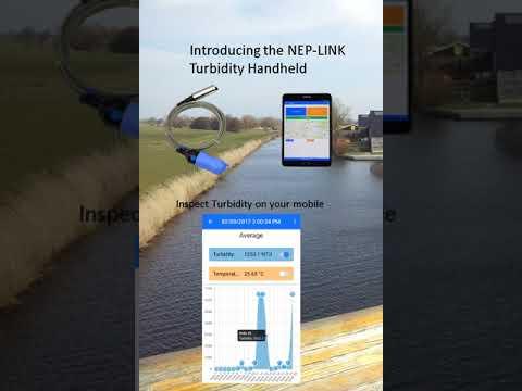 Introducing the NEP-LINK Turbidity Handheld – YouTube