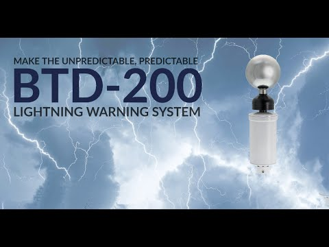 Predict the unpredictable with the BTD-200 Lightning Warning System – YouTube